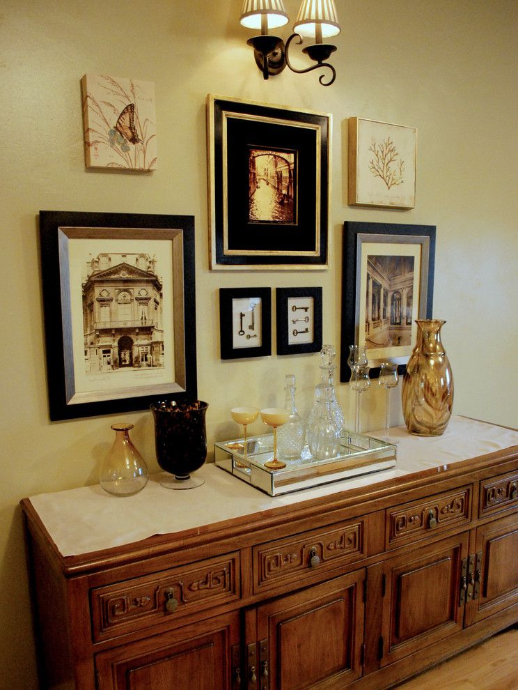 How to Build a Picture Frame with Traditional Living Room Also Art Arrangement Bar Barware Buffet Classical Roman Vase
