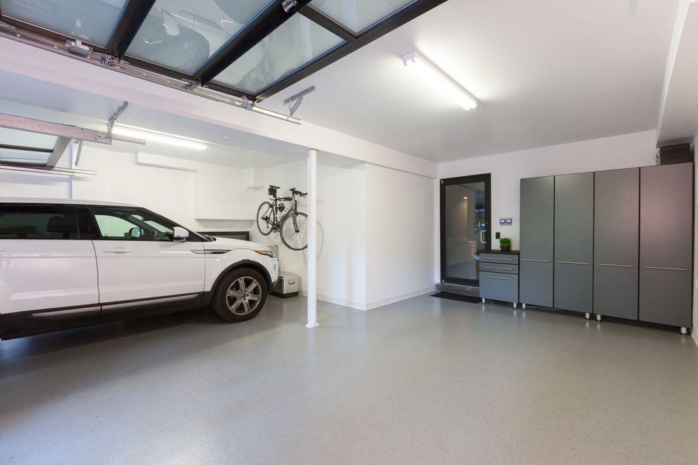 How to Clean a Garage with Contemporary Garage and Epoxy Floor Fancy Garage Garage Storage Modern Garage Nice Garage