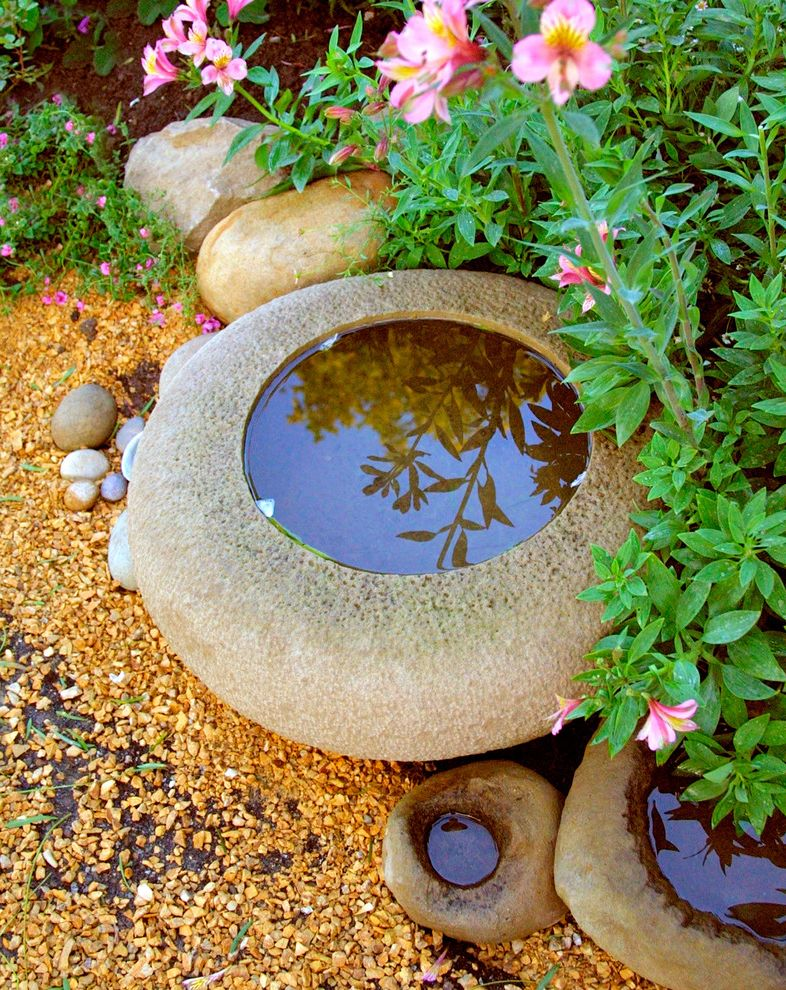 How to Get Rid of Mosquito Hawks with Traditional Landscape Also Details Garden Art Water Feature Water in the Garden Water Pot