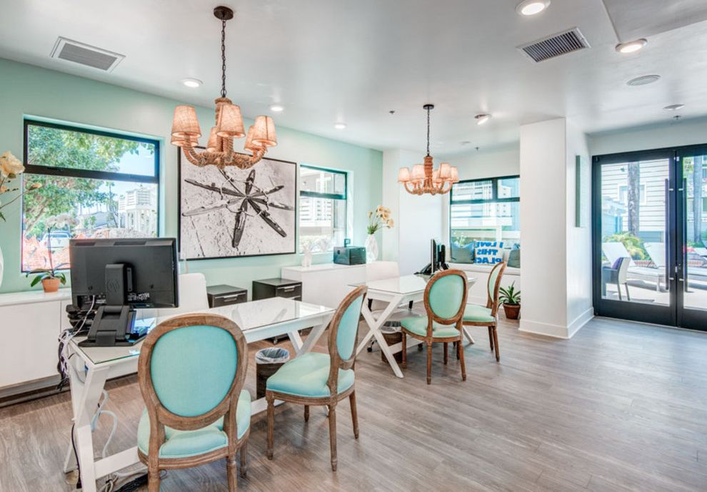 Huntington Breakers with Beach Style Home Office  and Apartment Beachstyle Coastal Essex Huntingtonbeach Surfstyle