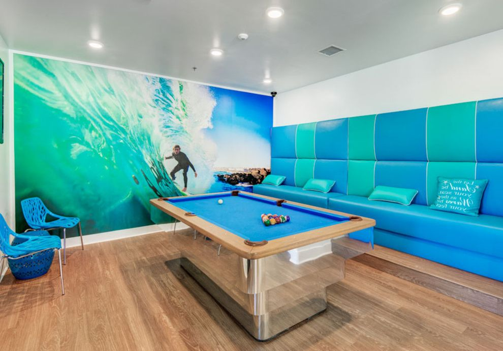 Huntington Breakers with Beach Style Home Theater Also Apartment Beachstyle Coastal Essex Huntingtonbeach Surfstyle