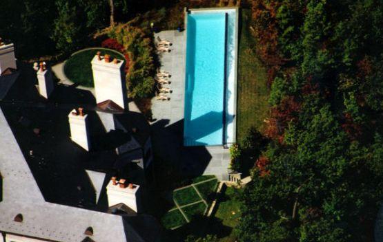 Hvac Charleston Wv   Contemporary Pool Also Benches Swim Up Benches Vanishing Edge White Pearl Pebble Tec