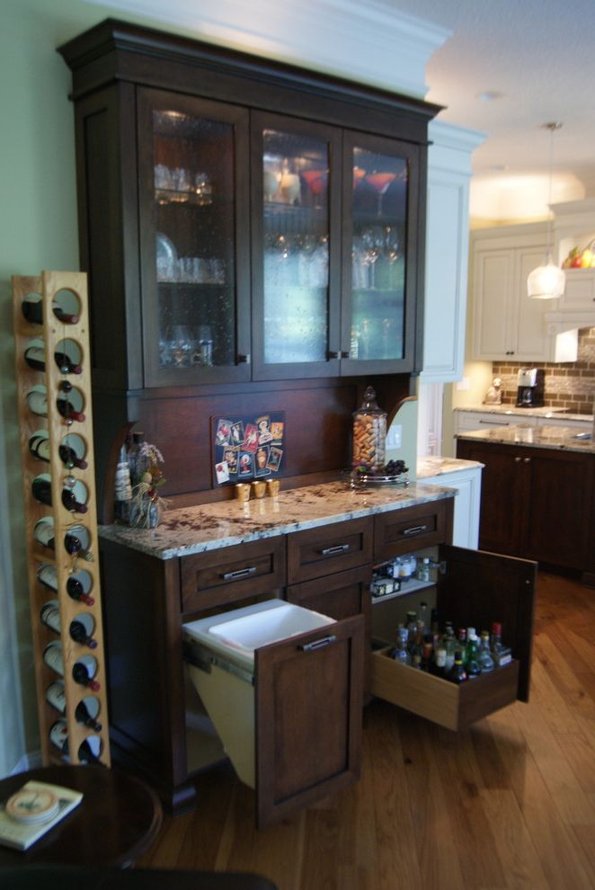 Ice Bin for Bar with Transitional Home Bar Also Home Bar Kitchen Kitchen Bar Liquer Pullout Trash Rollout