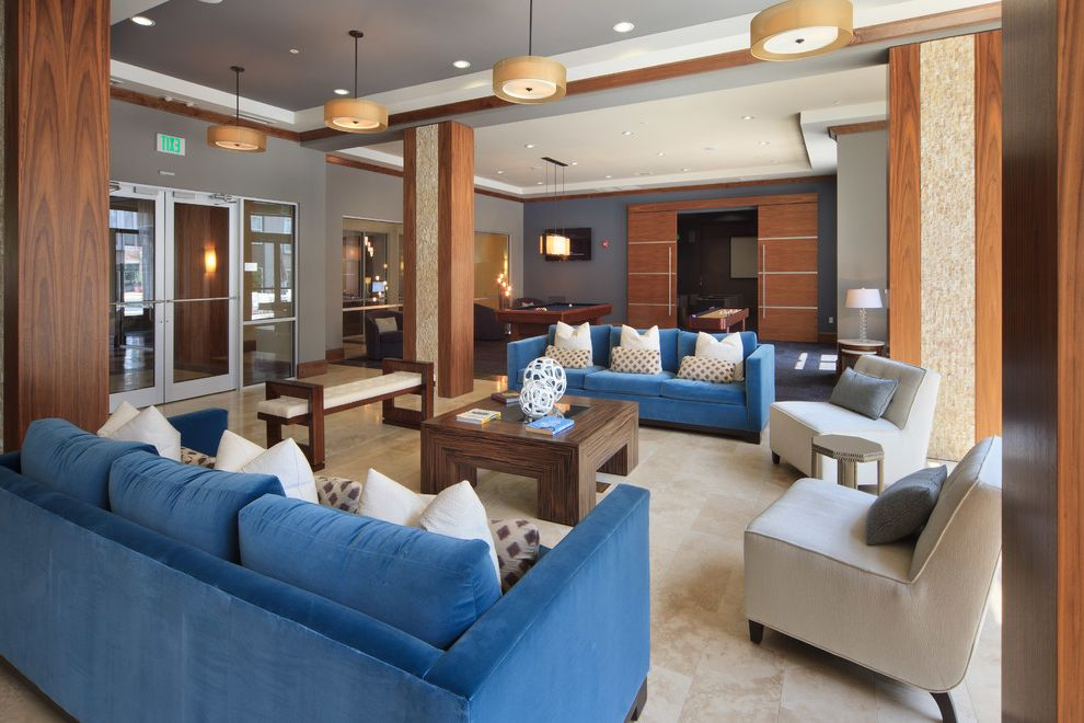 Icon at Dulles   Transitional Living Room Also Transitional