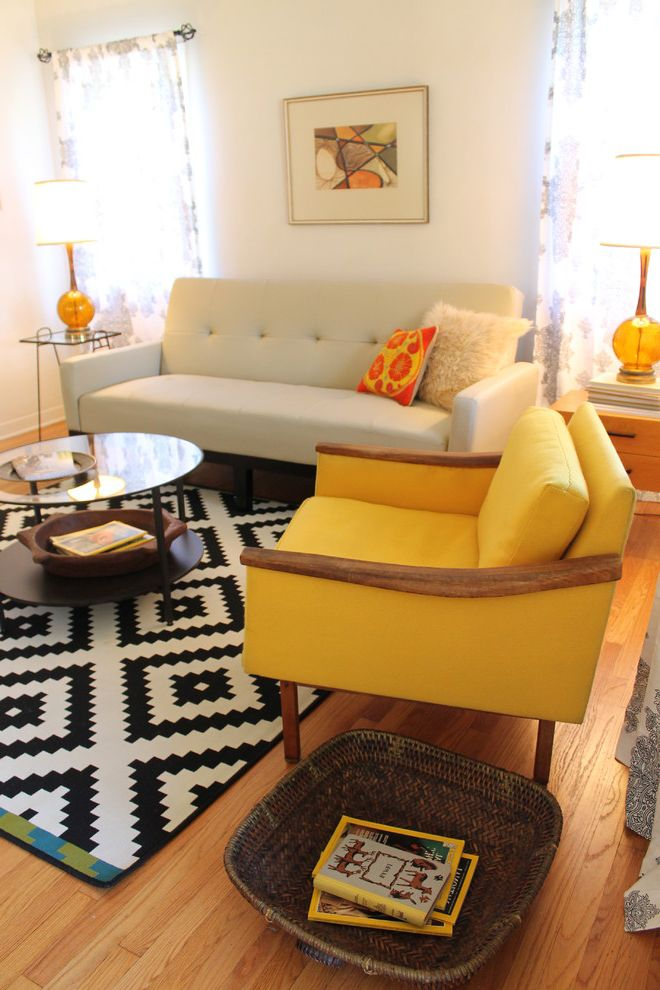 Mid Century Modern Living Room - Small Bungalow $style In $location
