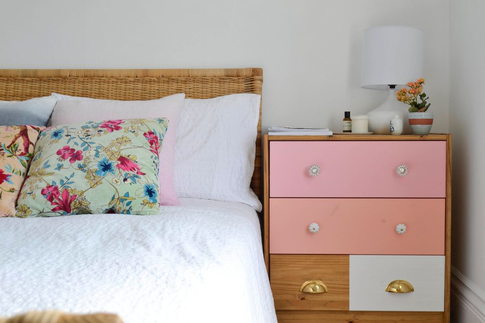 Inexpensive Dressers with Eclectic Bedroom  and Eclectic