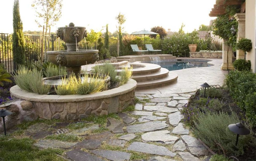 Luxurious Mediterranean Outdoor Living $style In $location