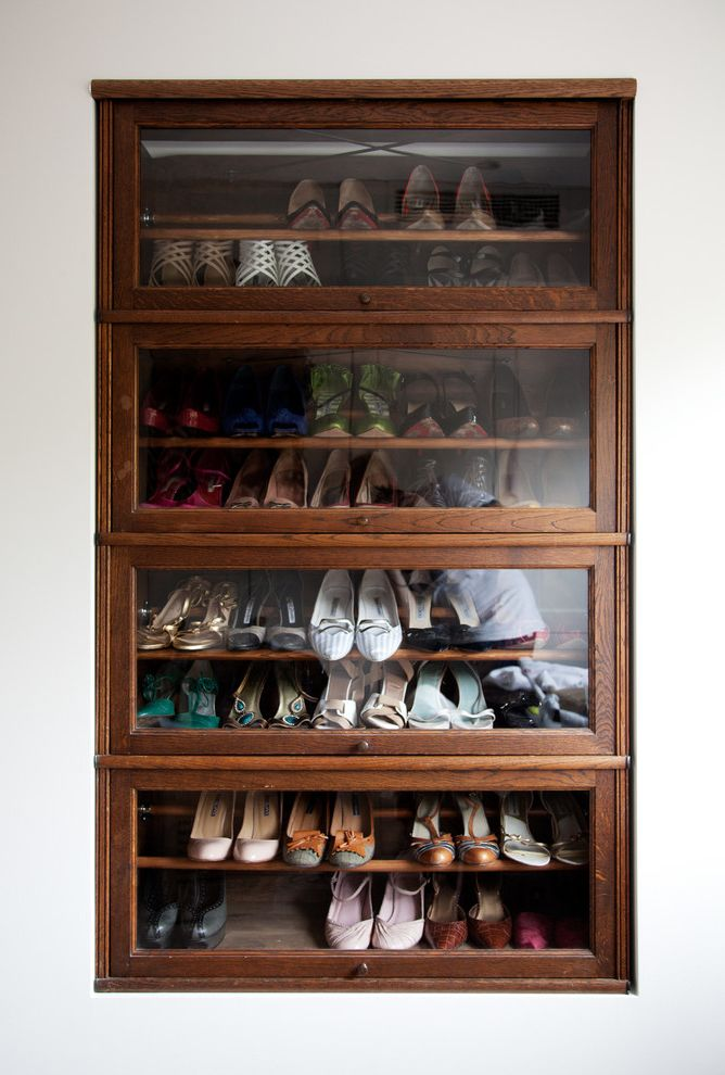 Jerome's Furniture Store   Modern Closet Also Built in Storage Display Cabinet Glass Cabinet Glass Storage Shoe Display Shoe Racks Shoes