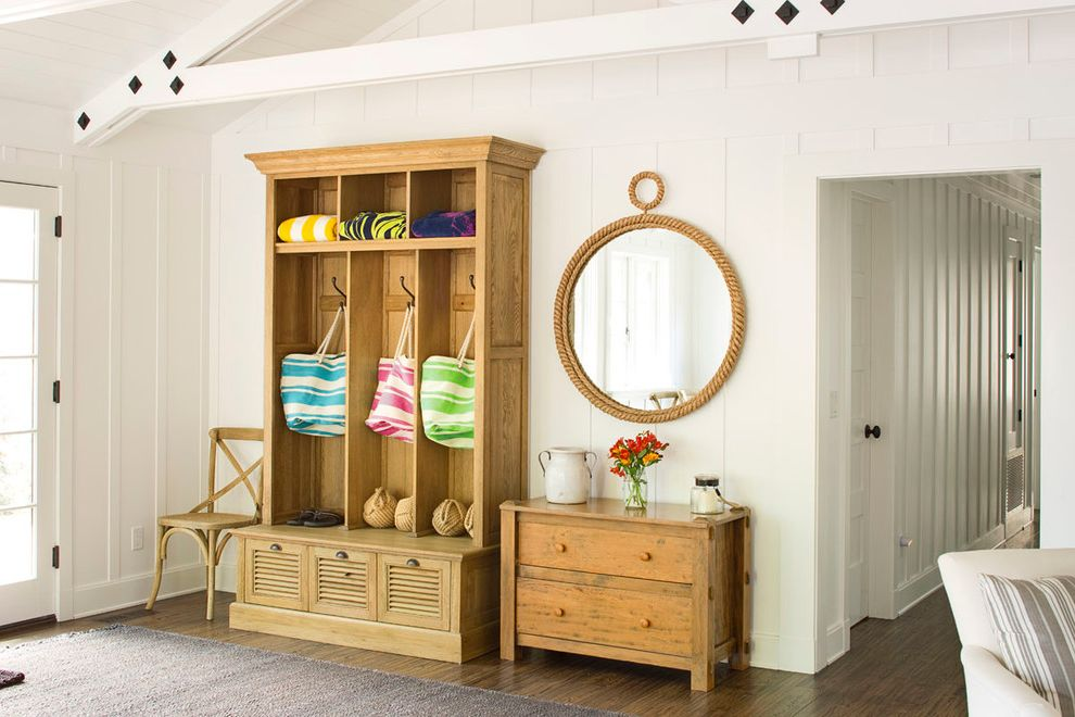 Jerome's Furniture Store with Beach Style Entry  and Beach Style
