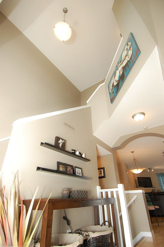 Joe Hayden Realtor with  Entry  and Accent Calgary Colorful Accents Decor Decorating Home Staging Real Estate Realtors Yyc