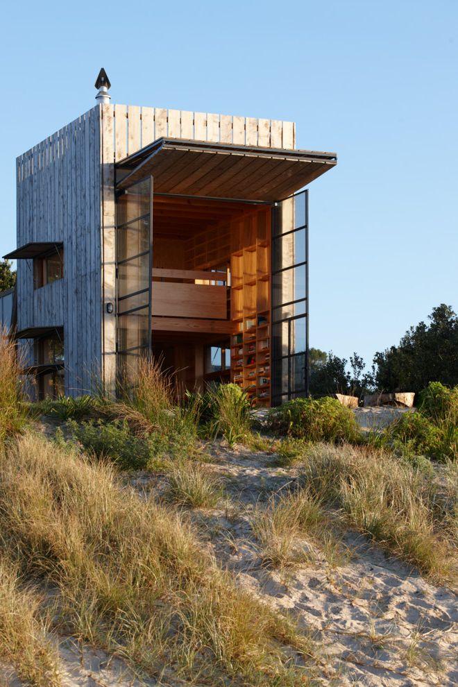 Joy House Milwaukee   Beach Style Exterior Also Beach Front Beach Grass Beach View Glass Doors Loft House