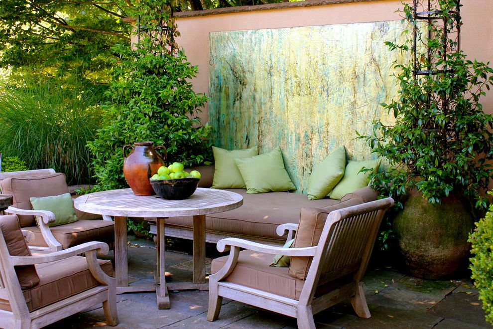 Junk Removal Huntsville Al with Traditional Patio Also Color in the Garden Container Plants Customized Garden Art Garden Art Garden Wall Outdoor Art Outdoor Cushions Outdoor Dining Outdoor Living Room Patio Furniture Potted Plants Splash of Color
