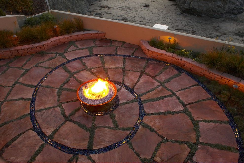 Just Energy Houston with Beach Style Patio Also Beach Coastal Fire Pit Mosaic Tiles Outdoor Lighting Pavers Permeable Paving Planters Spiral Pattern Stacked Stone Waterfront