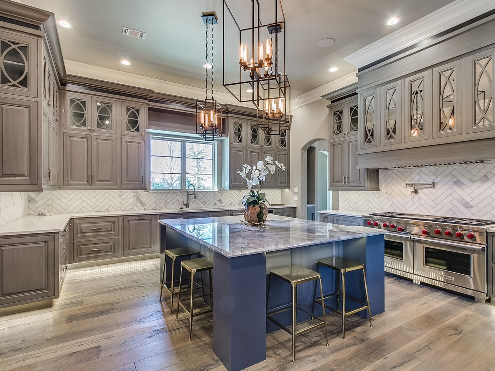 Keller Williams Okc   Transitional Kitchen  and Edmond Luxury Okc Oklahoma Oklahoma City Thunder