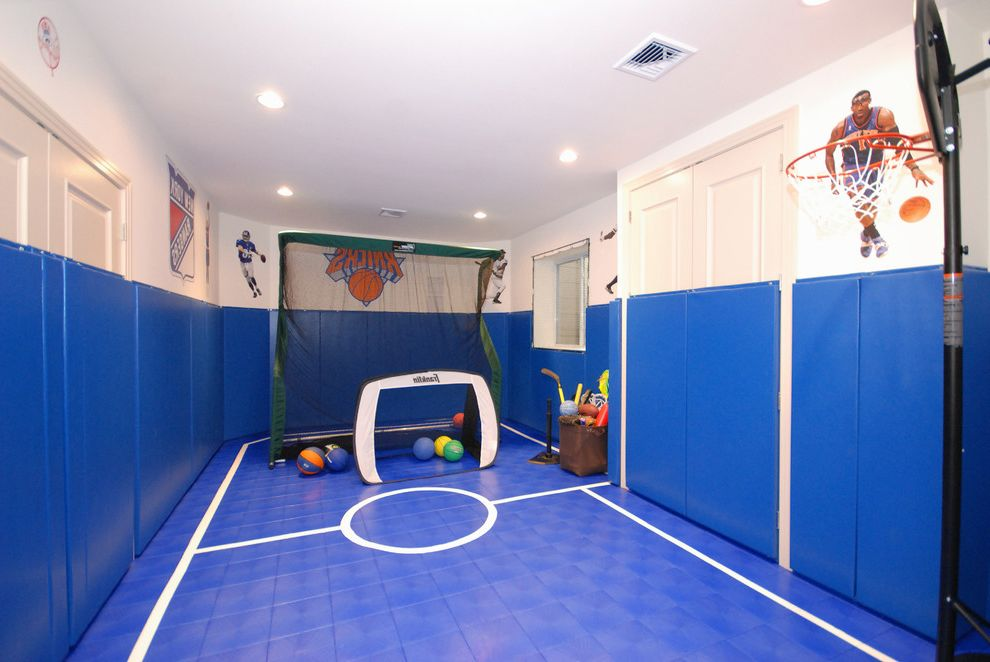 Kitchen Padded Mats With Contemporary Kids Also Basement Basketball Hoop Ceiling Lighting Kids Sports Padded Room Playroom Recessed Lighting Sports Room Wall Decals Finefurnished Com