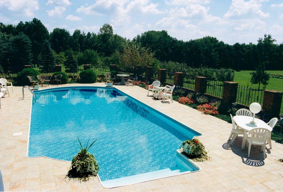 Knickerbocker Pools with Mediterranean Pool  and Beautiful Pools Tiles