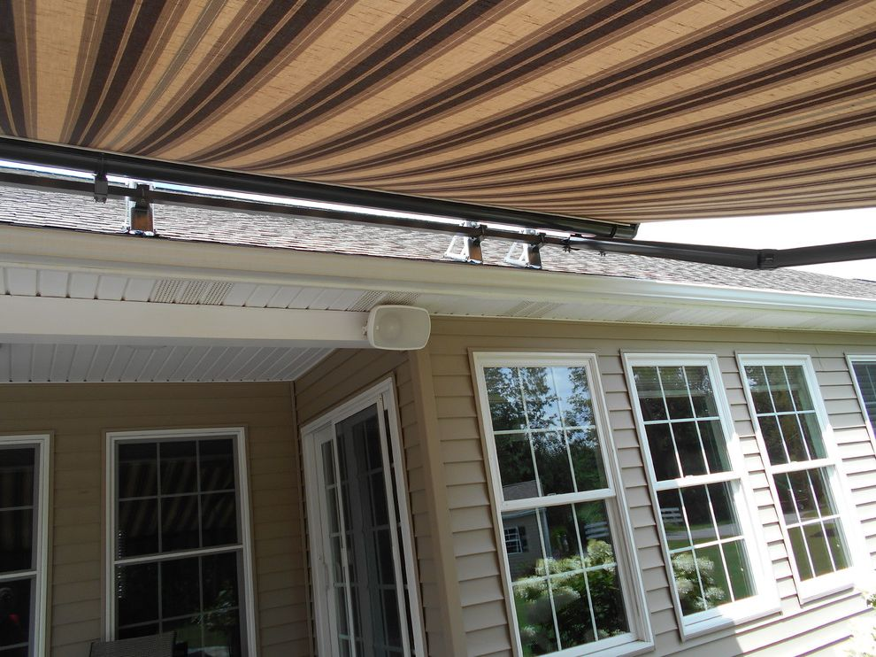 Kohler Awning   Traditional Spaces Also Eclipse Retractable Awning