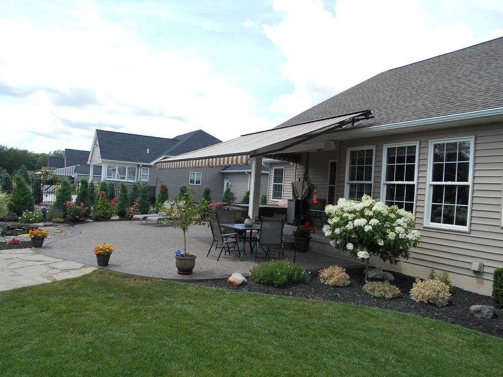 Kohler Awning   Traditional Spaces  and Eclipse Retractable Awning