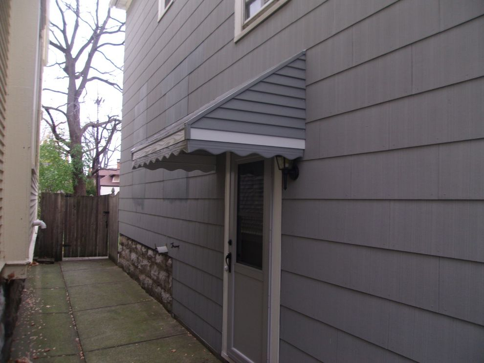 Kohler Awning with Traditional Spaces Also Aluminum Awning