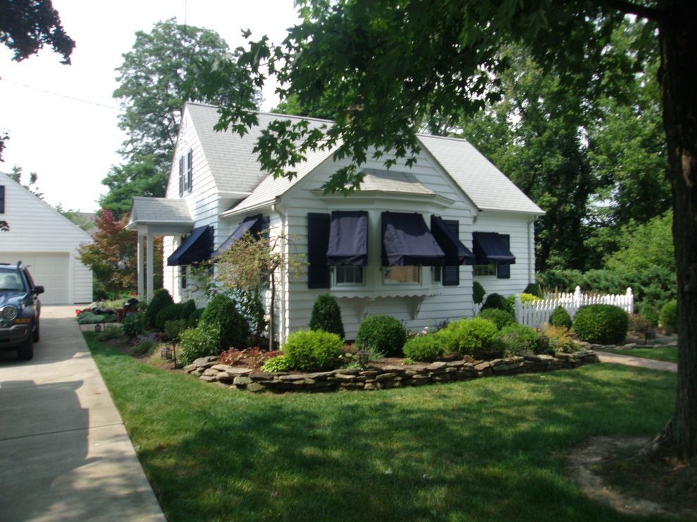 Kohler Awning with Traditional Spaces Also Sunbrella Window Awnings ...