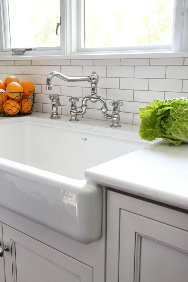 Kohler K 2210 0 with Traditional Kitchen and Antique Appliance ...