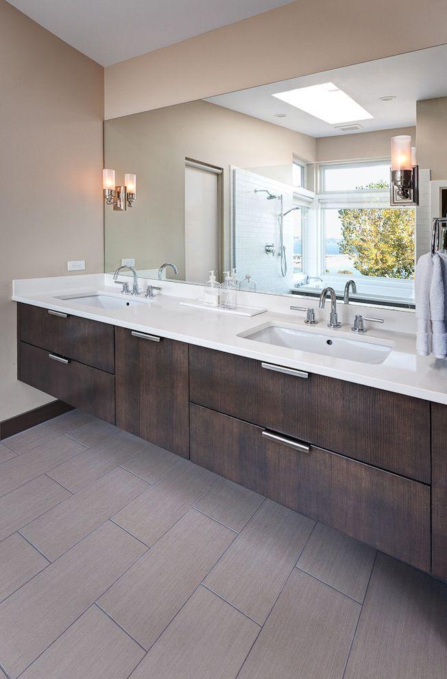 Kohler K 2215 with Eclectic Bathroom Also Ann Sacks Tile Grey ...