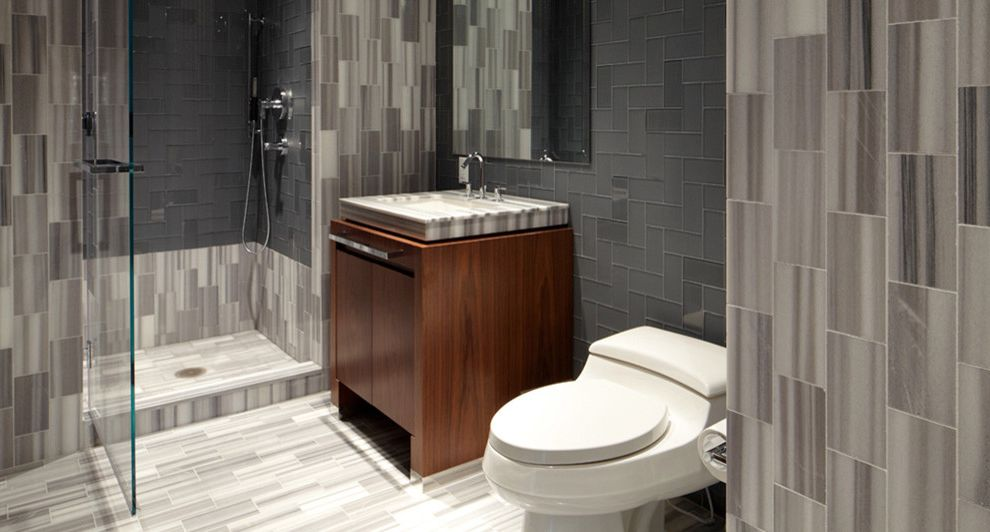 Kohler K 2215 with Eclectic Bathroom Also Ann Sacks Tile Grey Bathrooms Kohler Full Bathroom Kohler Grey Bathroom Kohler Rialto Toilet Kohler Shower Marble Bathroom