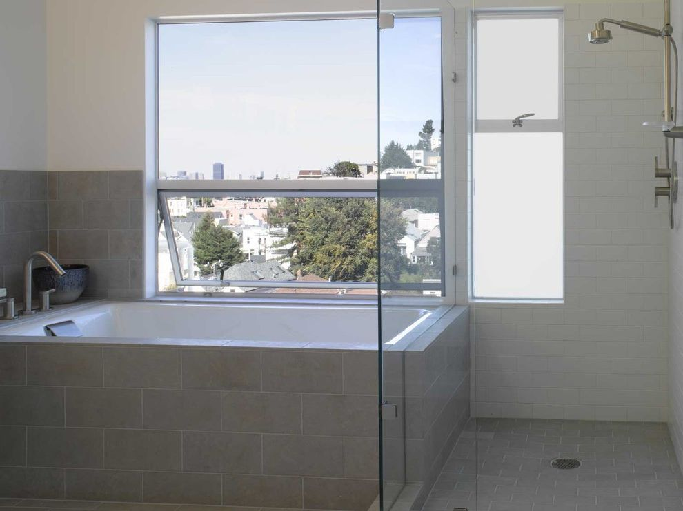 Kohler Villager Tub Modern Bathroom Also Awning Windows