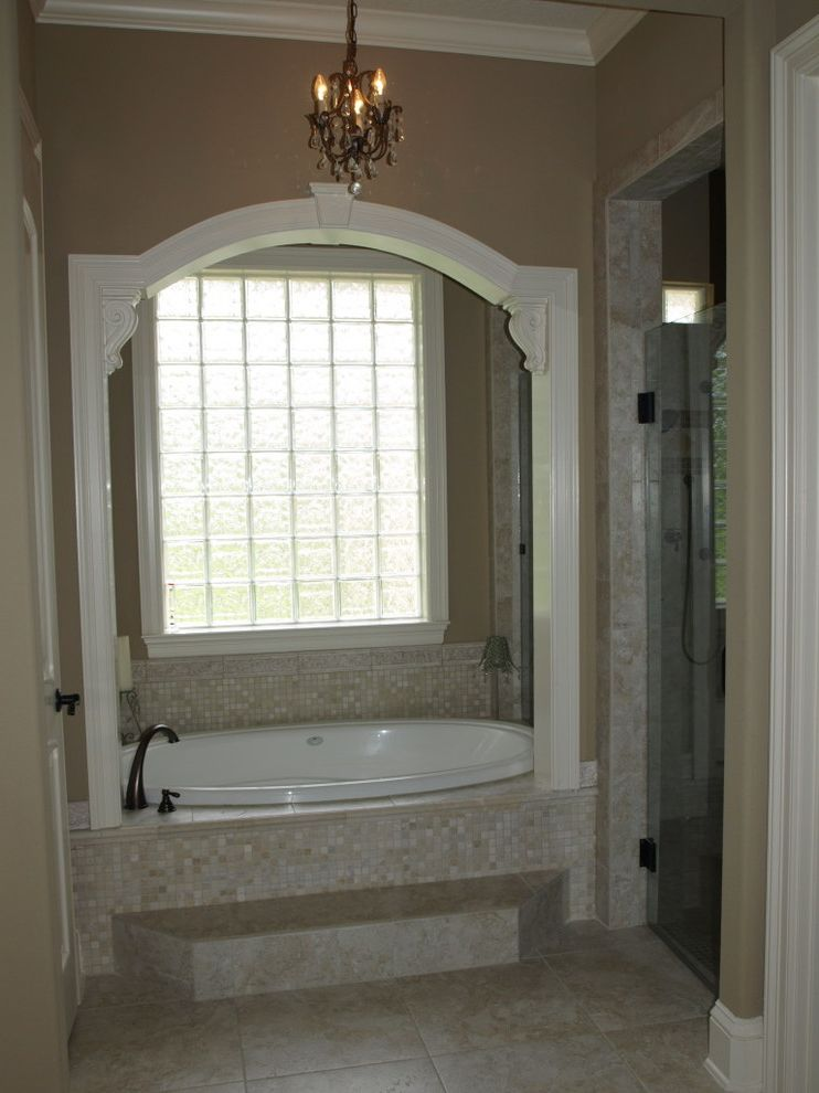 Kurk Homes   Traditional Bathroom Also Bathtub Custom French Country Master Bath Tuscan