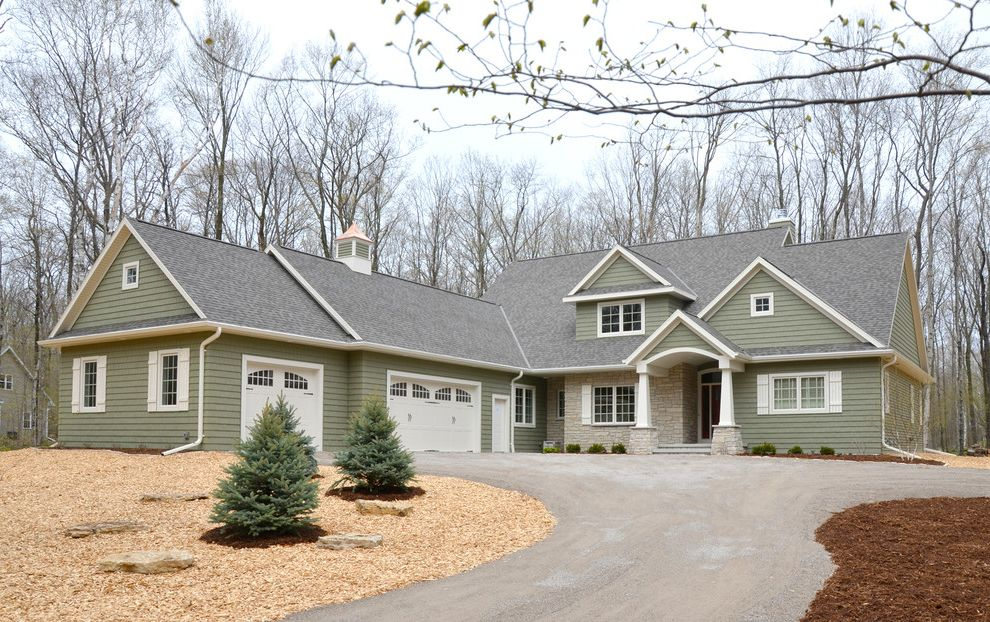 Landmark Weathered Wood   Traditional Exterior Also Door County Showcase of Homes