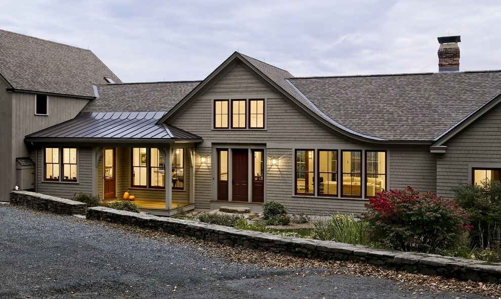 Landmark Weathered Wood with Traditional Exterior  and Traditional