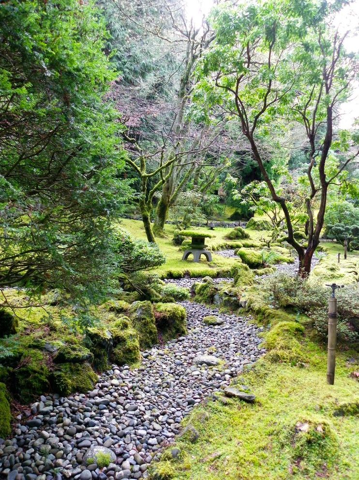 Landscapers Depot   Asian Landscape  and Creative Landscape Depot Dry River Bed Japanese Lantern Kitchener Waterloo Water Feature Zen Garden