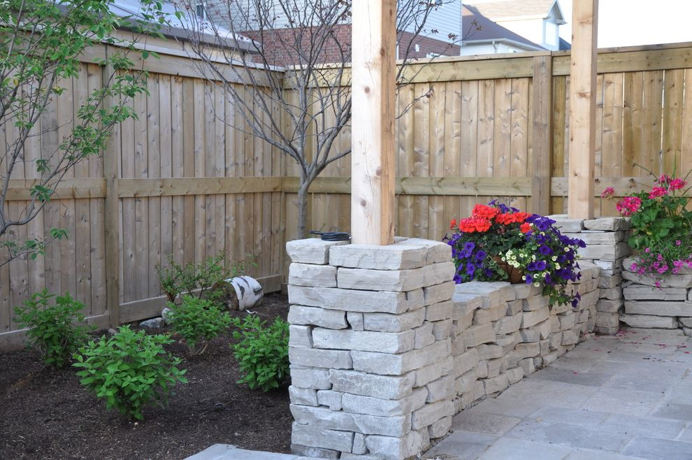 Landscapers Depot with Traditional Landscape  and Covered Patio Creative Landscape Depot Garden Walls Indoor Outdoor Living Pergola Square Cut Flagstone Stone Pillar Stone Step