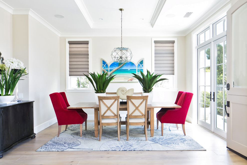 Lazy Boy Lift Chairs with Beach Style Dining Room  and Custom Home Transitional Style