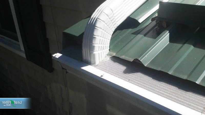 Leaf Filter Reviews with Farmhouse Exterior  and Eavestrough Gutter Guards Gutter Helmets Gutter Protection Gutter Screens Gutters Leaf Filter Leaf Guards Leaffilter Micro Mesh Gutter Guards
