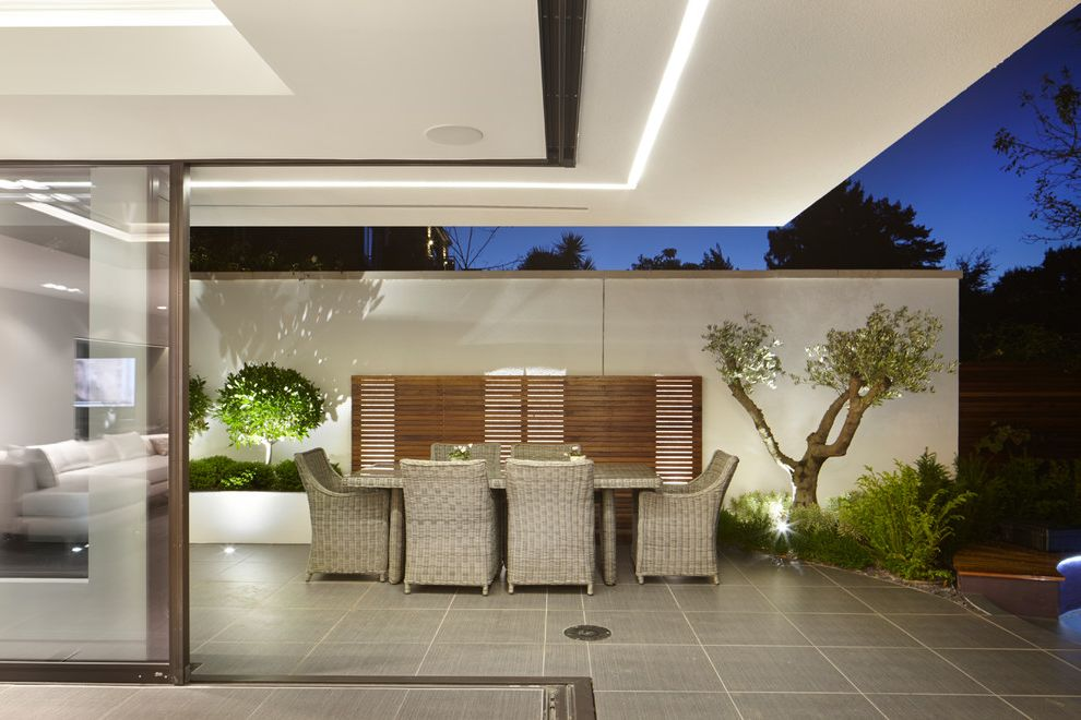 contemporary landscape lighting. led yard flood lights with contemporary landscape and architectural details garden design lighting modern