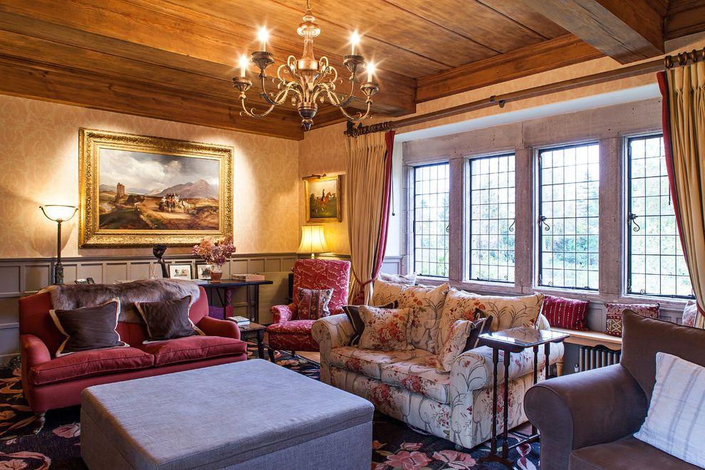 Legendary Upholstery with Traditional Living Room Also Castle Heritage Rennovation Restoration Scotland