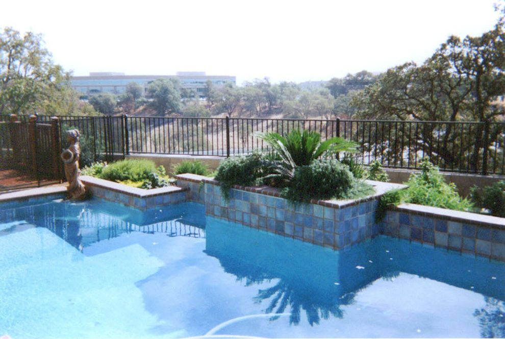 Leisure Time Pools Okc    Pool  and Backyard Pool Custom Pools Outdoor Landscape Outdoor Living Outside Pool
