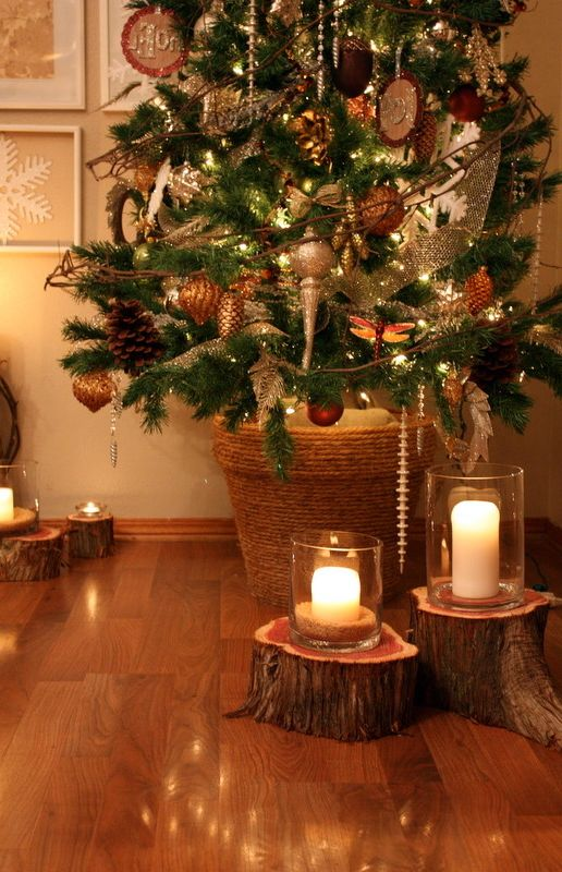 Lifelike Artificial Christmas Trees with  Spaces Also