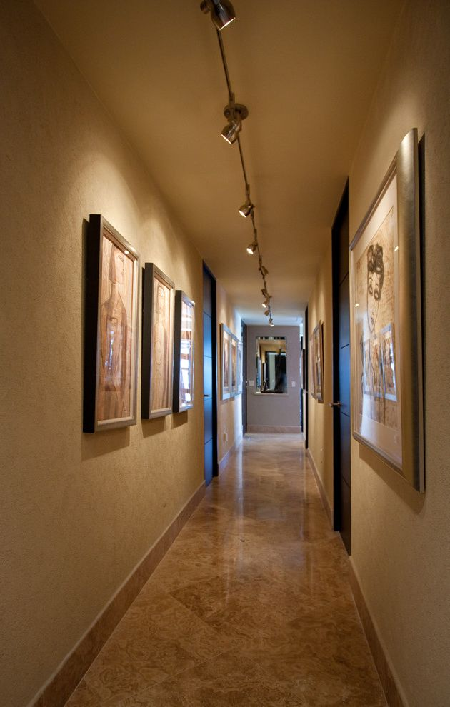 Contemporary Art Gallery Hallway $style In $location