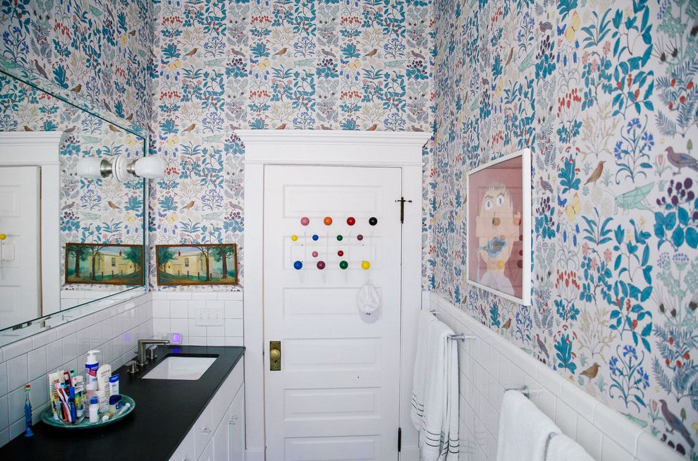 Lockwood Storage with Eclectic Bathroom  and Eclectic