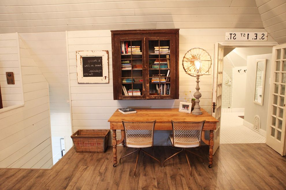 Loft Waco   Farmhouse Home Office  and Farmhouse