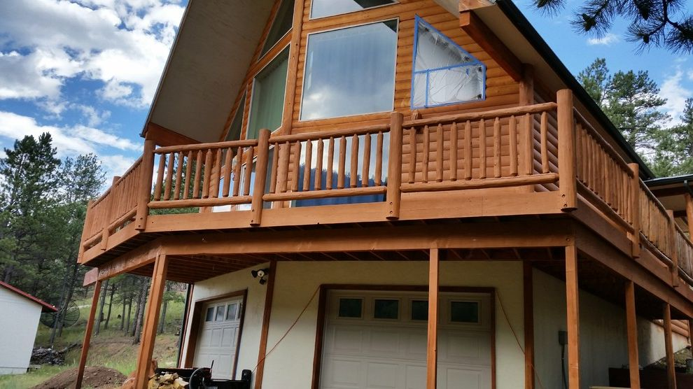 Log Cabin Stain   Rustic Spaces Also Exterior Painting High Peak Log Cabin Stain Wood Stain