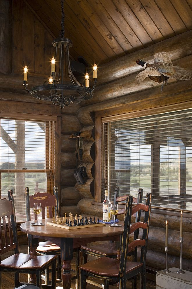 Rustic Dining Room $style In $location