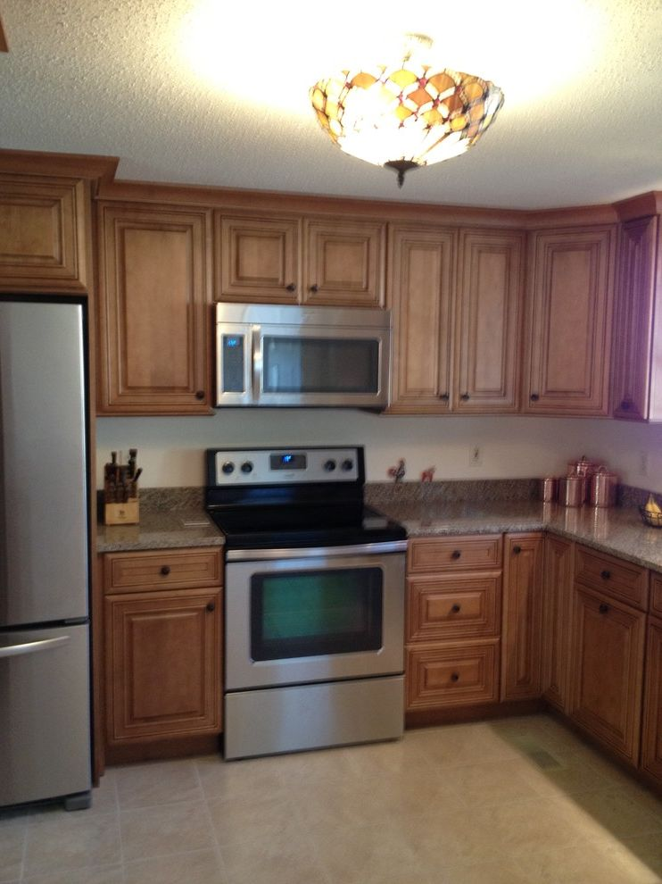 Lowes Amherst Nh   Traditional Kitchen  and Traditional
