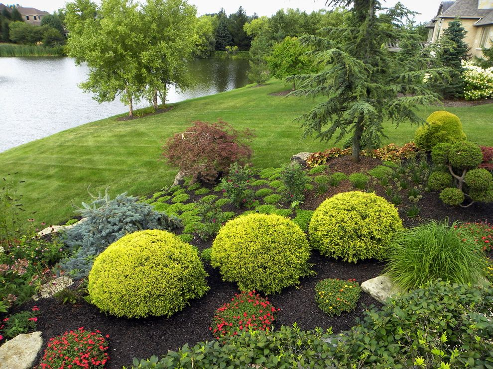 Lowes Cedar Rapids Traditional Landscape And Grass Ground Cover