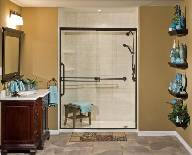 Lowes Chattanooga with  Bathroom  and Barrier Free Showers Bathtub Shower Combos Low Entry Shower