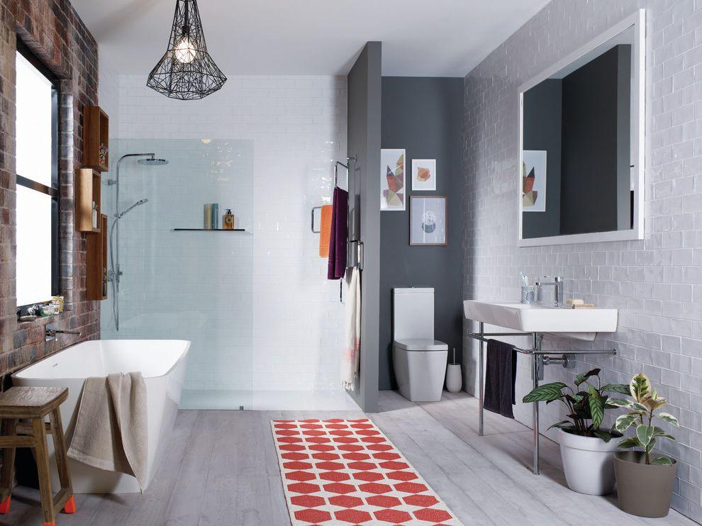 Lowes Clearwater   Scandinavian Bathroom  and Scandinavian