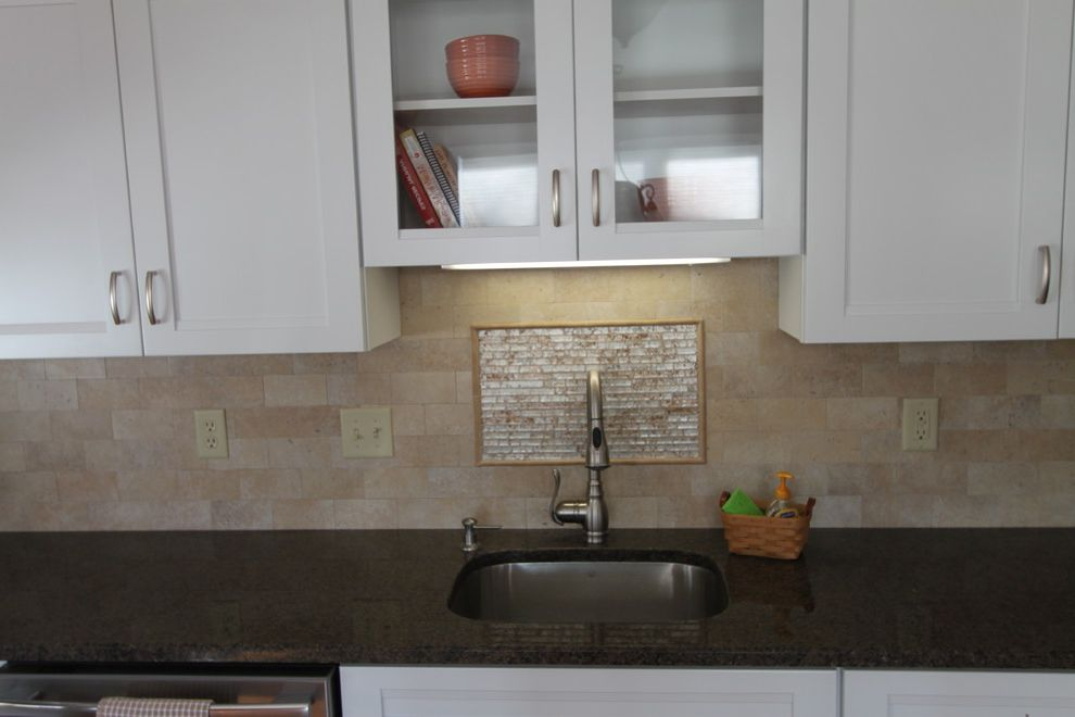 Lowes Derby Ct with Traditional Kitchen  and Frigidaire Granite Counters Kraft Maid Tile Back Splash