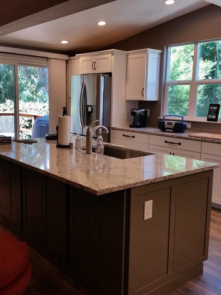 Lowes Elk Grove   Transitional Kitchen  and Transitional